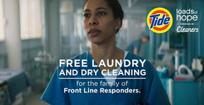 FOR FRONT LINE RESPONDERS   Free Laundry & Dry Cleaning for Nurses, Doctors & More
