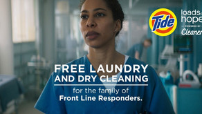 FOR FRONT LINE RESPONDERS | Free Laundry & Dry Cleaning for Nurses, Doctors & More