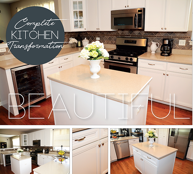 KITCHEN MAKEOVER | A Beautiful & Simple West Suburban ...