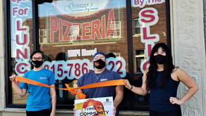 TYING THE COMMUNITY TOGETHER | Gonzo's Next Location In Chamber's Ribbon Tying Campaign