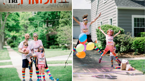 GLANCING THE GALLANT | A Wheaton Birthday Party Transformation Filled with Color