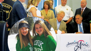 TO GIVE, TO INSPIRE   Amazing Annie, Law Signed by Gov Rauner