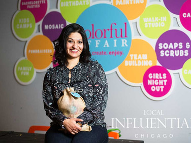 MANSI HANS of NAPERVILLE   The Inspiration For A Colorful Affair