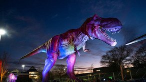 DINO SAFARI | Dinosaurs are Invading Fox Valley Mall