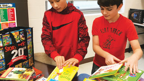 CARING + SHARING| Kaneland Harter Middle School Looking for Gently Used Books