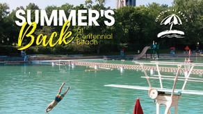 NAPERVILLE   Summer's Back at Centennial Beach
