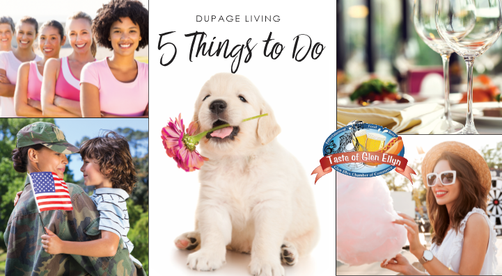 Glancer Magazine, 5 Things to Do, DuPage Count, Early May