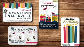 FUN GIFT IDEA | Downtown Naperville Gift Cards Can Be Used at Over 150 Establishments