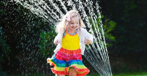MIDDAY SPRAY | Cool Off with Fun Water Feature on Naperville's Rotary Hill