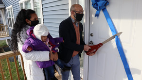 GIVING BACK | Habitat Homeowners Build Home Just in Time for the Holidays