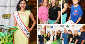 SCENE AROUND SUBURBIA   Newly Crowned Miss Illinois Helps the Hungry at 95.9 The River's Radioth