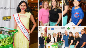 SCENE AROUND SUBURBIA | Newly Crowned Miss Illinois Helps the Hungry at 95.9 The River's Radioth