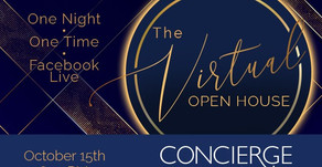 VIRTUAL OPEN HOUSE | View Trending Cosmetic Treatments Via Facebook Live with Concierge