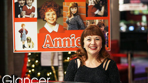 "SO! CELEBRITY | Leapin' Lizzards! ""Annie"" is All Grown Up"