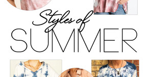 SUMMER STYLE   Tie Dye & More Found at these Local Area Boutiques