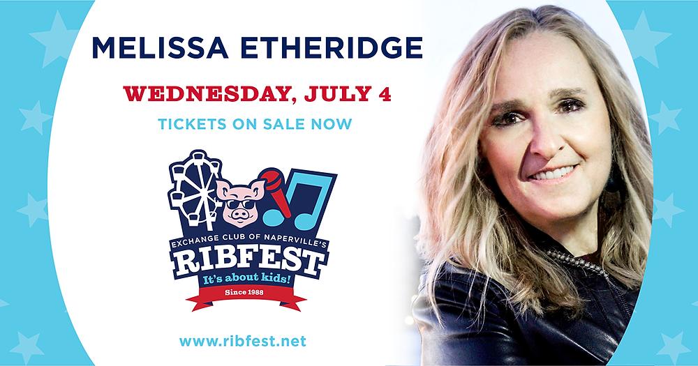 Ribfest 2018, Melissa Ethridge, Naperville