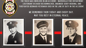 NAPERVILLE FIRE DEPARTMENT | Remembering those Killed On this Day In the Line of Duty
