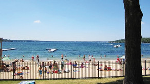 FONTANA BEACH | Well Traveled Beach on Geneva Lake Closes to Out of Town Guests Due to COVID-19