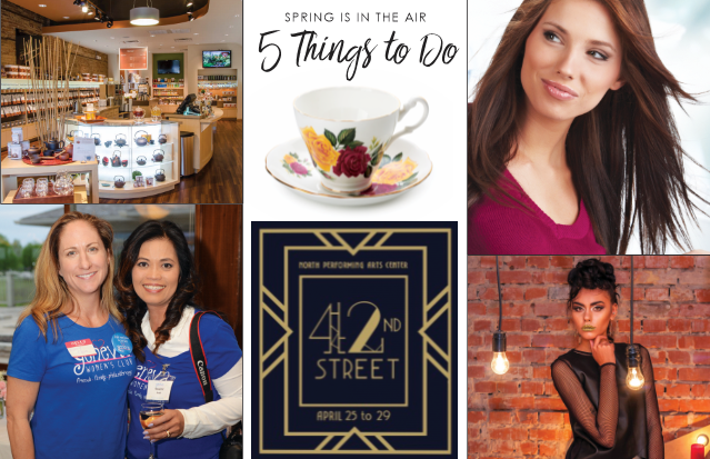 5 Things to Do, Glancer Magazine, Mid-April
