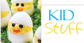 KID STUFF | Keeping the Kids Busy at Home In April