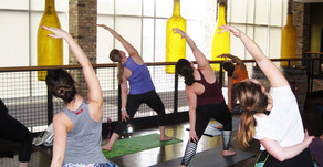 VINYASSA AND VINO | Yoga and Wine Tasting at City Winery in Chicago