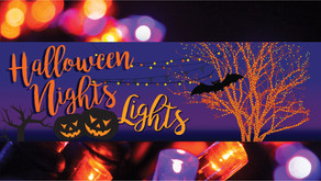 HALLOWEEN NIGHTS LIGHTS | Centennial Beach Oct 29-30, Hosted by Naperville Park District