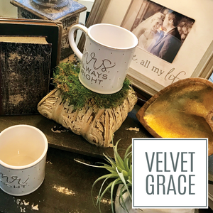 Velvet Grace, Glancer Magazine