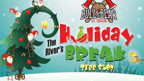 AXE THROWING FUN | Join 95.9 The River at Bull & Bear's Axe Throwing Holiday Break in Montgomery