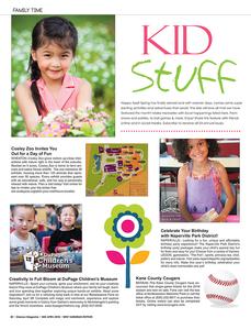 Kid Stuff, Mid April, Glancer Magazine 2018