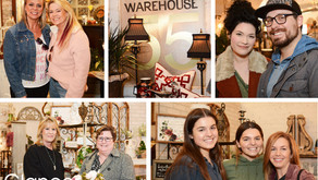 SCENE AROUND SUBURBIA | Vintage Shop Hop at Warehouse 55 (Mar 7)