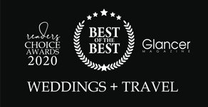 WEDDING + TRAVEL | 2020 Best of the Best  Winners