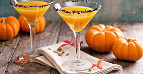 PUMPKIN PIE MARTINI | A Halloween Treat