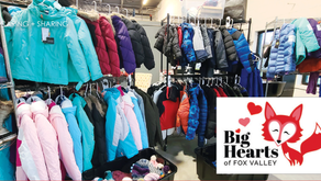 TO GIVE, TO INSPIRE   Volunteer Ran Group Supports Families In Need throughout School District 303