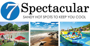 7 SPECTACULAR | Sandy Hot Spots to Keep You Cool