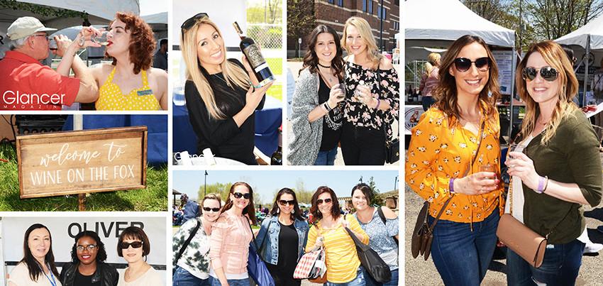 Wine on the Fox, Oswego, Scene Around Suburbia, Glancer Magazine