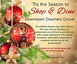 SHOP DOWNTOWN DOWNERS GROVE | So Many Fun Events Happening All Season Long!