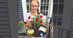 GLANCING THE GALLANT | 5th Grader Makes Fairy Gardens to Raise Money for Struggling Businesses
