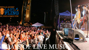 LABOR DAY WEEKEND   Naperville Last Fling to Be a Scaled-Down End of Summer Block Party-Style Event