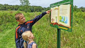 FUN IN NATURE | Hickory Knolls Natural Area Comes Alive Through New Walk-and-Read Children's Story