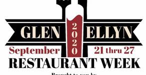 GLEN ELLYN RESTAURANT WEEK   Going Strong through September 27 - Dine Out Today!