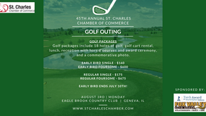 GOLF NEWS | St. Charles Chamber of Commerce to Host their 45th Annual Golf Outing