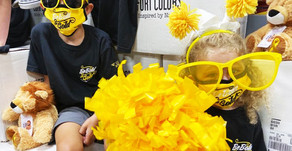 "CAL'S ANGELS | NFP Launches The ""Be Bold Go Gold"" Challenge For Pediatric Cancer Awareness"