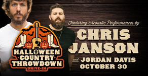 HALLOWEEN COUNTRY THROWDOWN | Featuring Chris Janson and Jordan Davis