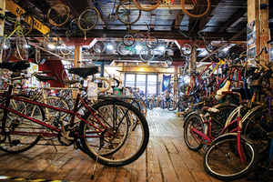 Working Bikes, To Give, To Inspire, Glancer Magazine