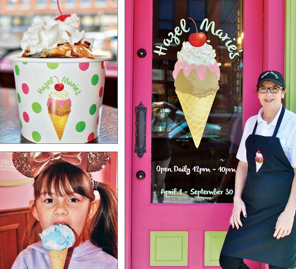 Hazel Marie's Ice Cream, Glancer Magazine