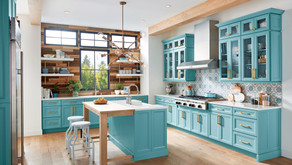COLORFUL KITCHEN INSPIRATION | 5 Impactful, On Trend Cabinet Stylings