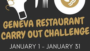 GENEVA | Support Local Restaurants With Geneva's Carry Out Challenge
