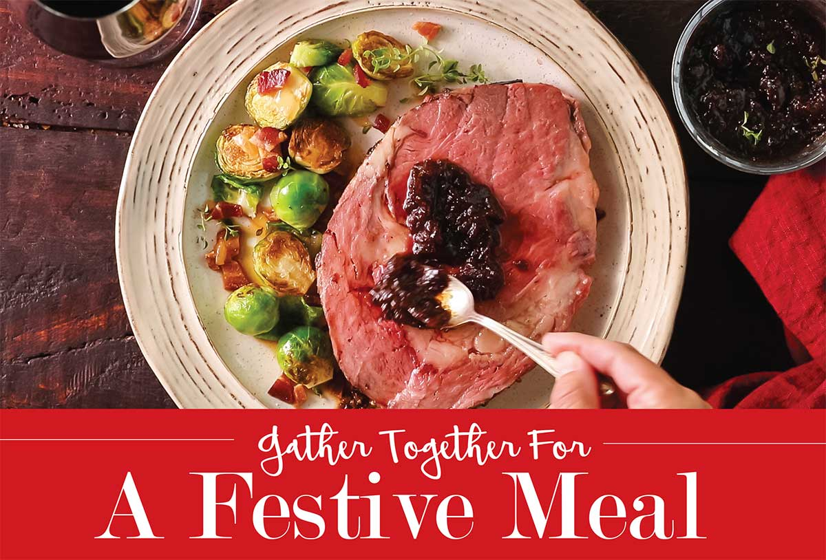Cover Story Gather Together For A Festive Meal Glancer Magazine