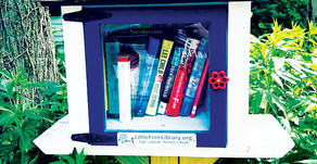 TO GIVE, TO INSPIRE | Little Free Libraries Have Become a Local Treasure