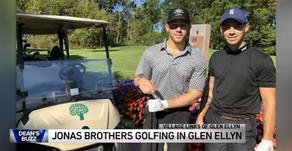 CELEBRITY SIGHTING | Jonas Brothers Enjoy a Day of Golf In Glen Ellyn